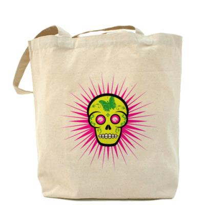 Сумка Green Skull Холщовая сумка