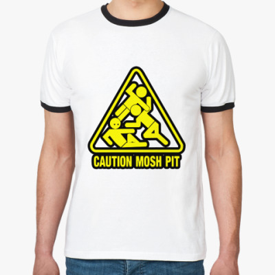 Футболка Ringer-T Mosh Pit