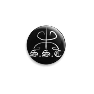 Значок 25мм logoS.S.C. by U.F.
