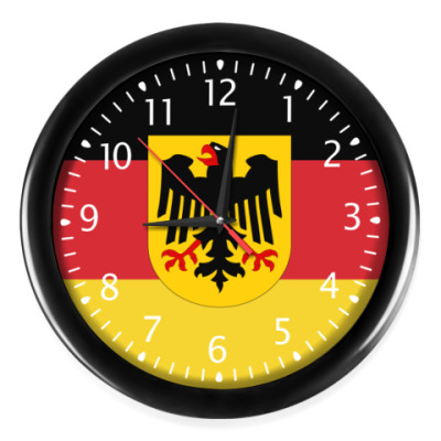 Часы Флаг Германии