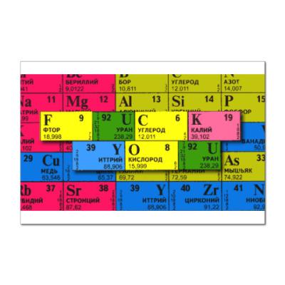 Наклейка (стикер) Формула нелюбви