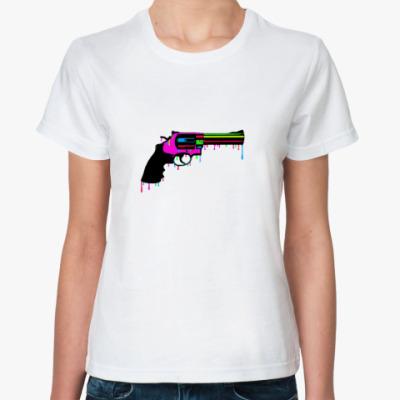 Классическая футболка Револьвер
