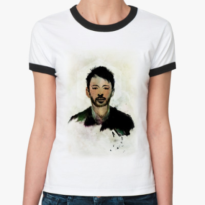 Женская футболка Ringer-T   Том Йорк