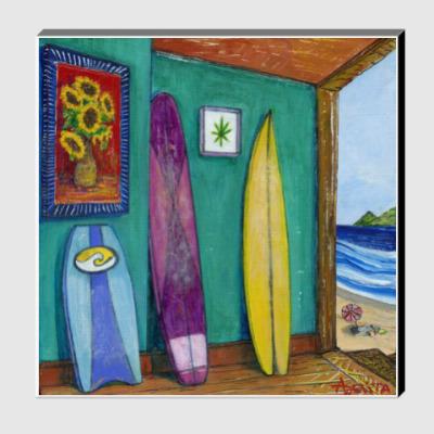 Холст Sunflowers by the Sea (50x50)