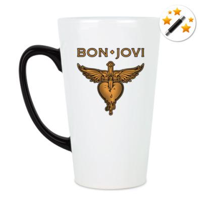 Кружка-хамелеон Bon Jovi