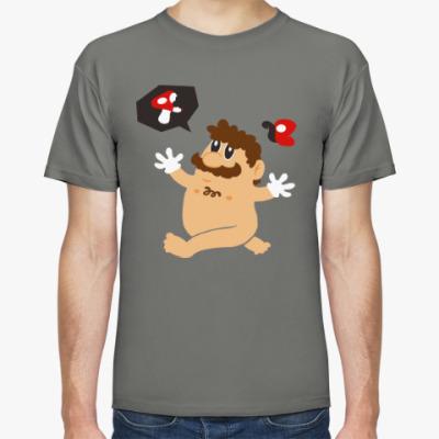 Футболка Супер Марио и грибы