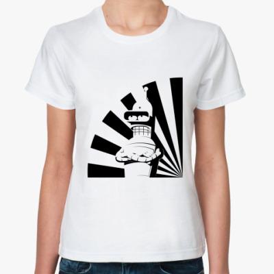 Классическая футболка  футболка «BEnder»