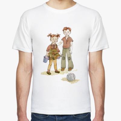 Футболка Девочка и мальчик