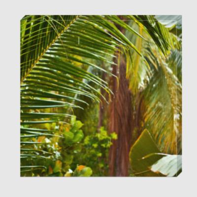 Холст Тропический дождь / Tropical rain