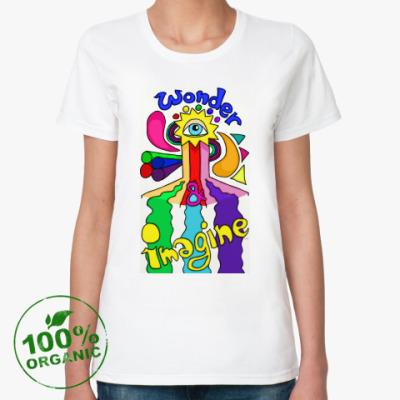 Женская футболка из органик-хлопка Imagine