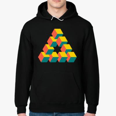 Толстовка худи Невозможный треугольник