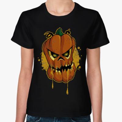 Женская футболка Тыква