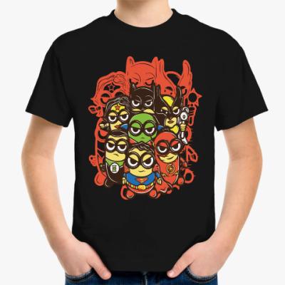 Детская футболка Лига Миньонов