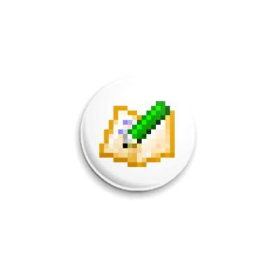 Значок 25мм  ICQ Статус #35