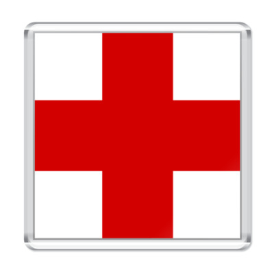 Магнит  «Красный Крест»
