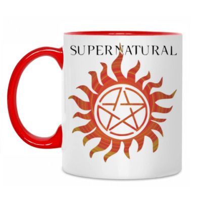 Кружка 'Supernatural'