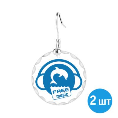 Серьги Free Music
