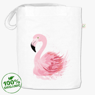 Сумка Розовый фламинго
