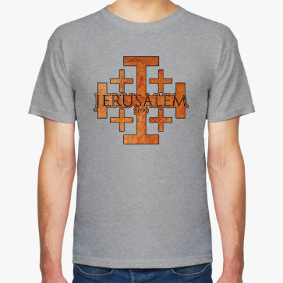 Футболка Иерусалимский крест / Jerusalem 1099