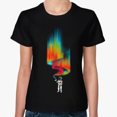 Женская футболка Космический вандал