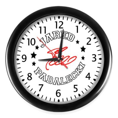 Настенные часы Джаред Supernatural - Автограф