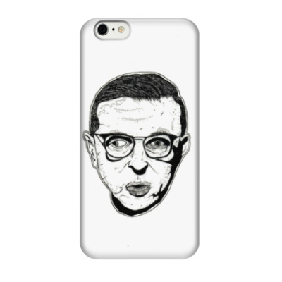 Чехол для iPhone 6/6s Жан-Поль Сартр