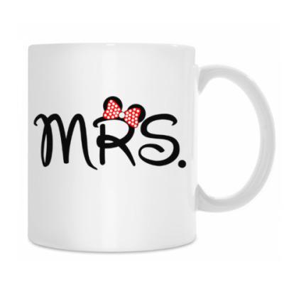 Кружка Mr. & Mrs.