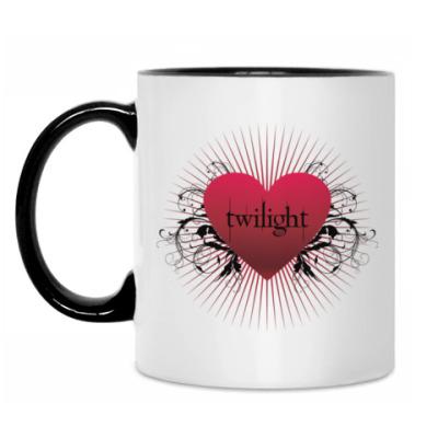 Кружка Twilight heart