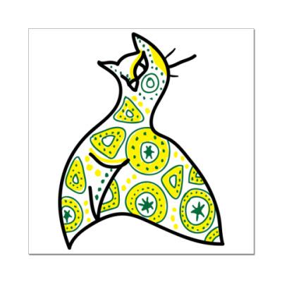 Наклейка (стикер) Кош