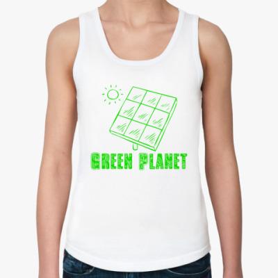 Женская майка Green Planet