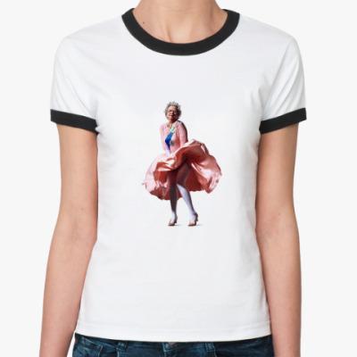Женская футболка Ringer-T Queen