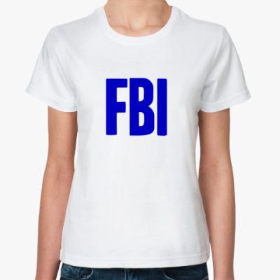 Классическая футболка  ФБР