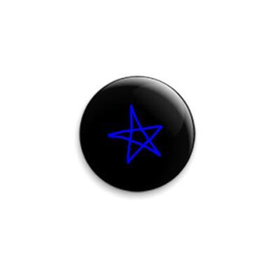 Значок 25мм Star