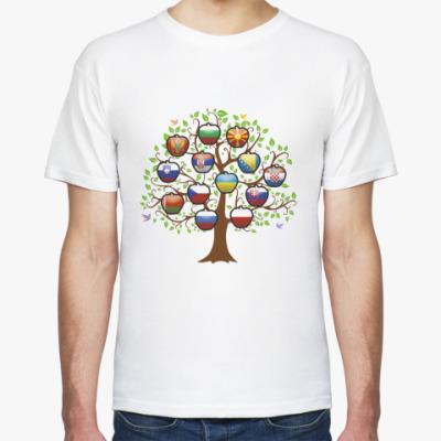 Футболка Славянское дерево