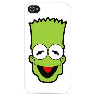Чехол для iPhone Барт - Кермит