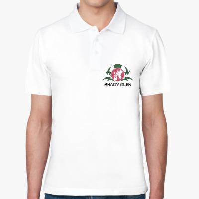 Рубашка поло Мужская рубашка поло Shady Glen, белая
