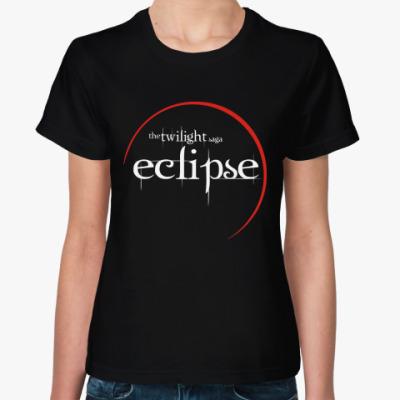 Женская футболка Eclipse