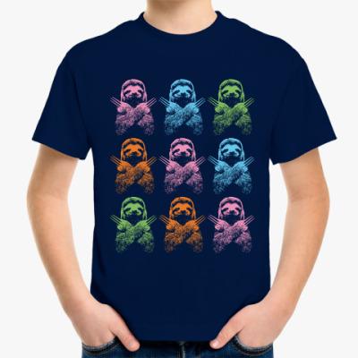 Детская футболка Ленивец - Росомаха