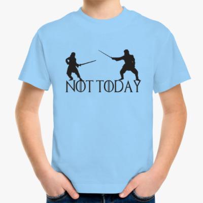 Детская футболка Игра престолов - Не сегодня