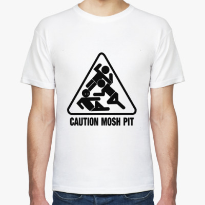 Футболка Caution Mosh Pit