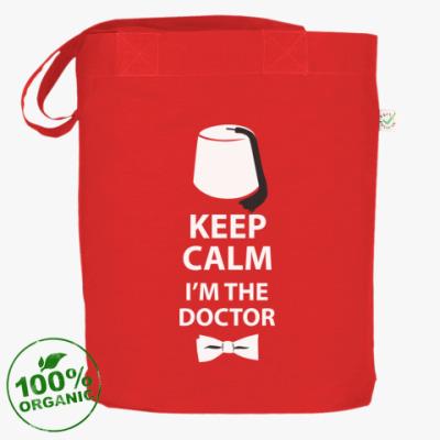 Сумка Keep calm! I'm the Doctor