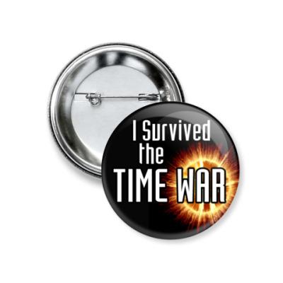 Значок 37мм Time War