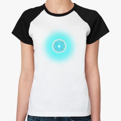 Женская футболка реглан Iron Man