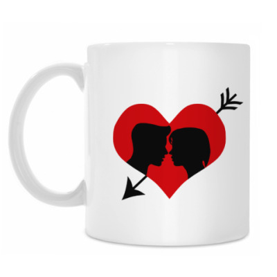 Кружка Сердце хочет любви