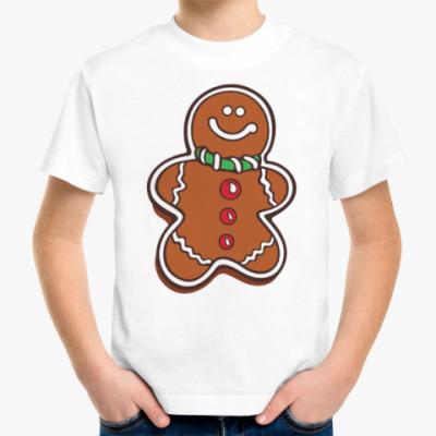 Детская футболка Новогоднее печенье Пряня