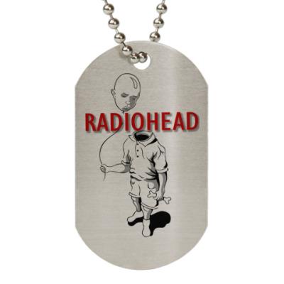 Жетон dog-tag Radiohead