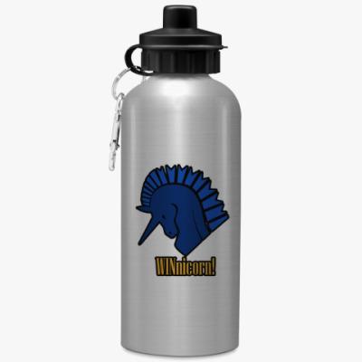 Спортивная бутылка/фляжка Единорог