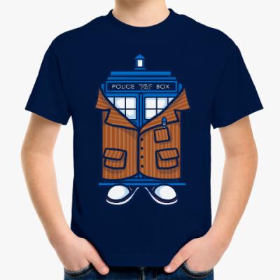 Детская футболка Десятый Доктор