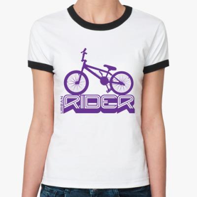 Женская футболка Ringer-T   Rider