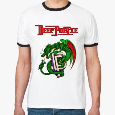 Футболка Ringer-T Deep Purple